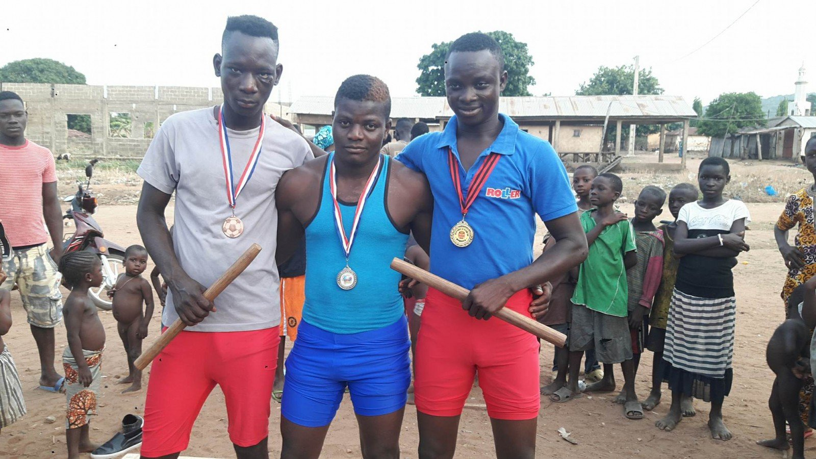 The Donga hosted Mas-wrestling in fervor from 21 to 25 April 2018