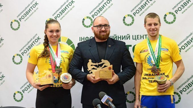 Mas-wrestling Federation of Ukraine on the development dynamics is among the three best in the world