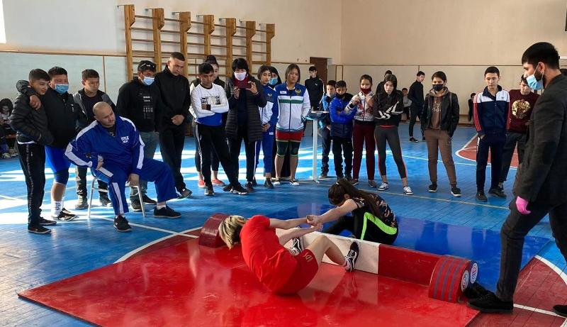 Mas-Wrestling championship of the country have been successfully held in Uzbekistan