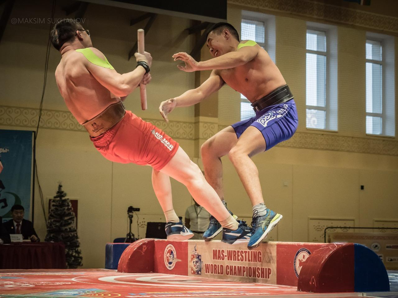 The loss of the world champion and other results of the Absolute Mas-Wrestling Championship of the Sakha Republic