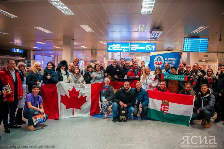 Another 56 athletes arrived in Yakutsk to participate in Mas-wrestling World Championship