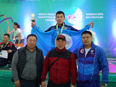 Mongolian mas-wrestling is open to the whole world