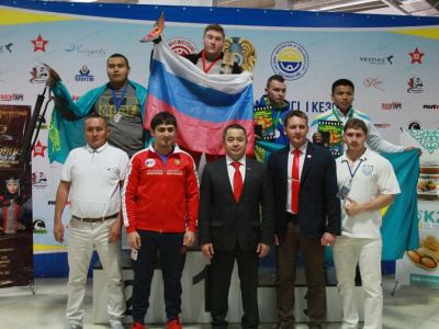 Ivan Galkin from Russia is a Master of Sport of International Class in Mas-Wrestling!