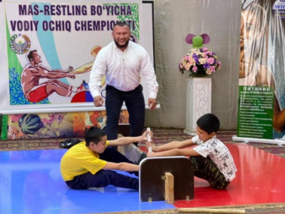 Championship of the Valley in Mas-Wrestling was held in Uzbekistan