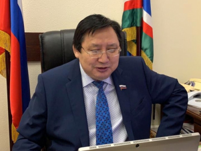 Senator Alexander Akimov has determined the development strategy of world mas-wrestling for the coming years