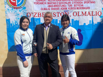 Mas-Wrestling tournament among students of specialized schools was held in Uzbekistan